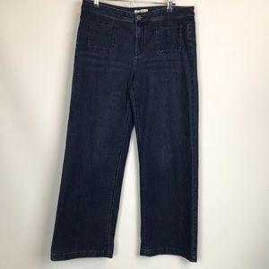 J. Jill Authentic Fit Full Leg Jeans Size 12